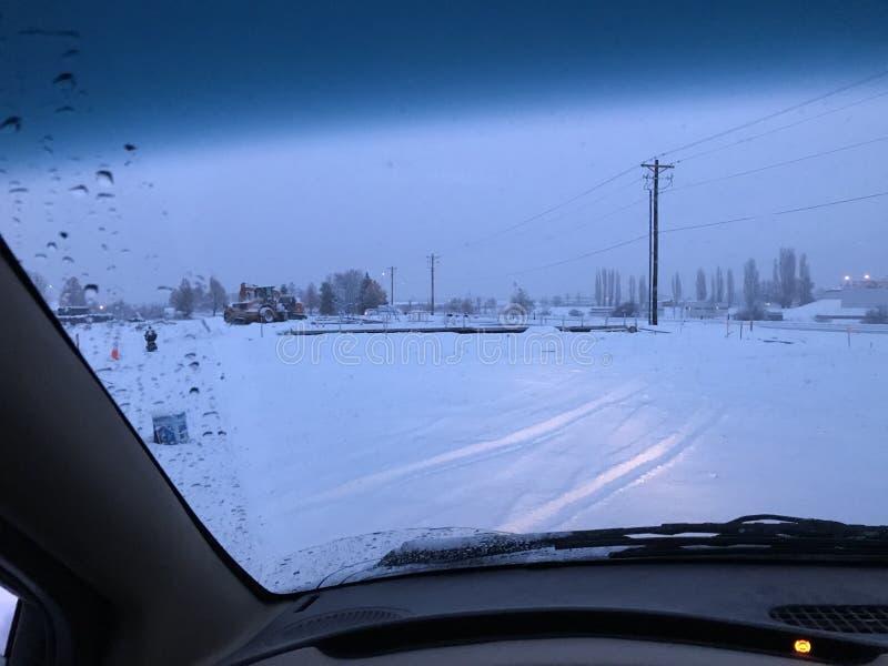 Montana zima 2017 zdjęcia royalty free