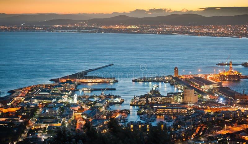Montanha África do Sul da tabela de Capetown fotos de stock
