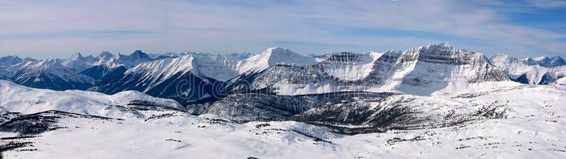 Montanha 2 panorâmicos fotos de stock royalty free