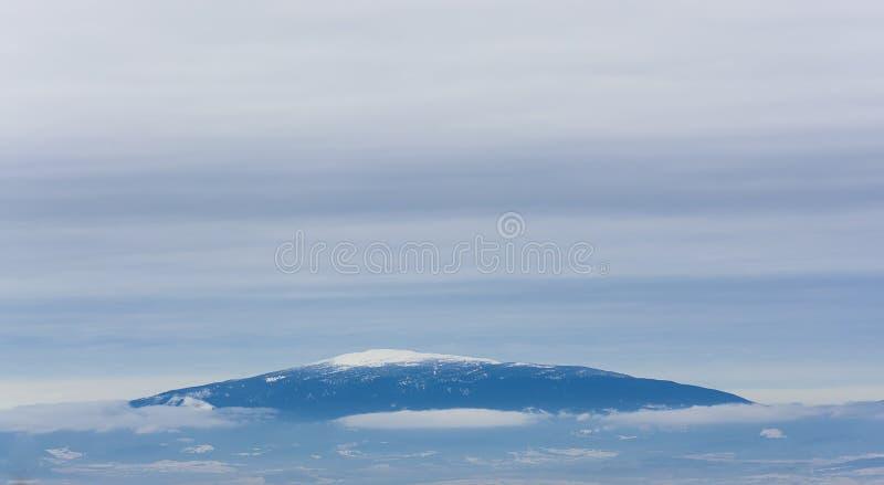A montanha fotografia de stock