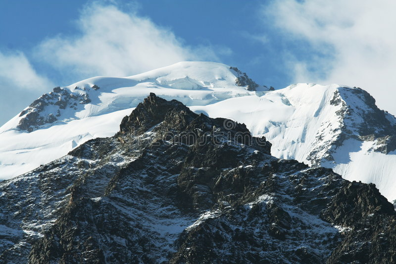 Montanha alta Pamirs fotos de stock royalty free