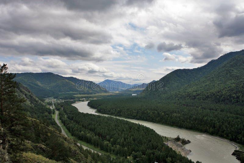 Montanha Altai foto de stock