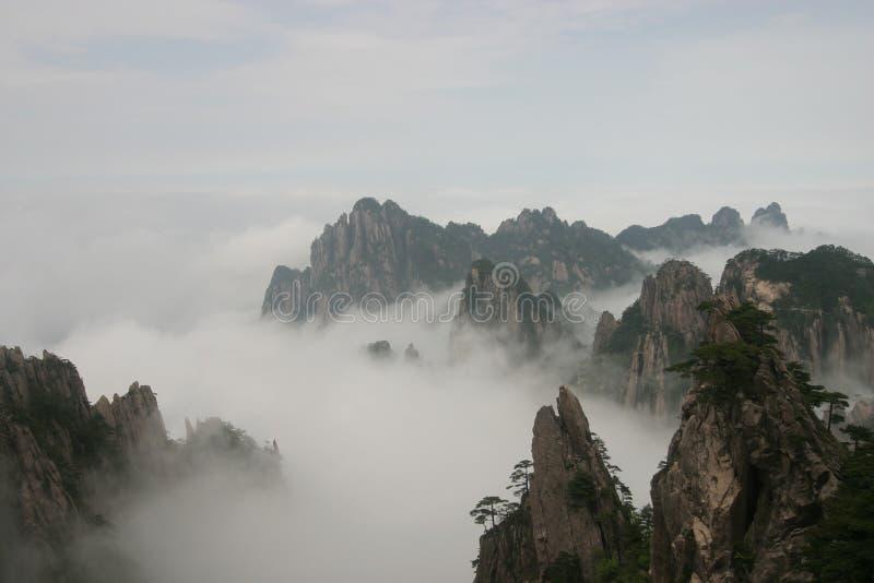 Montanha amarela 3, China imagens de stock royalty free
