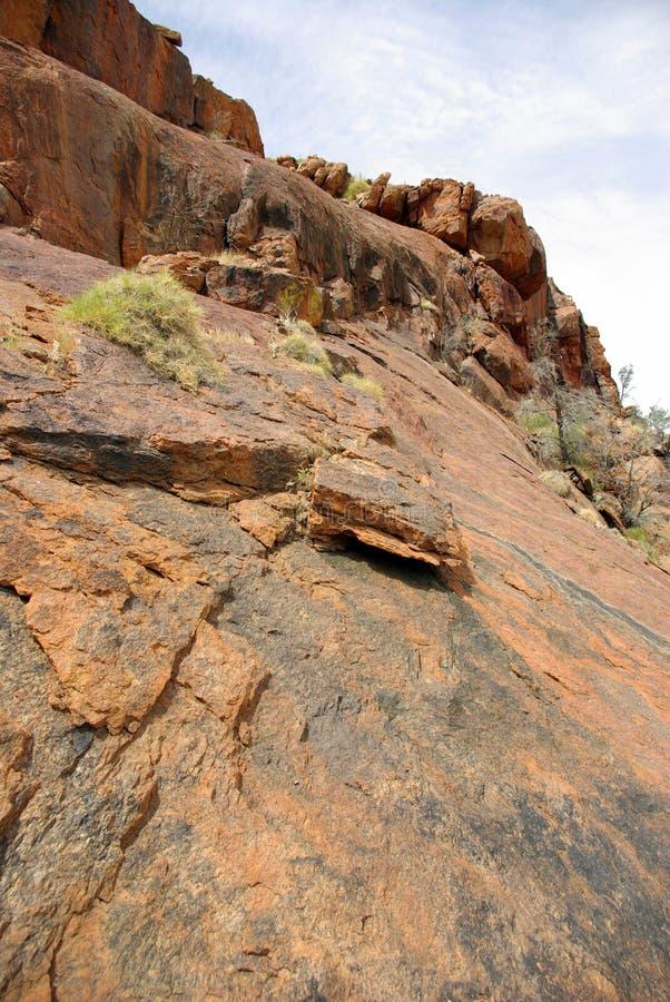Montanha australiana imagens de stock