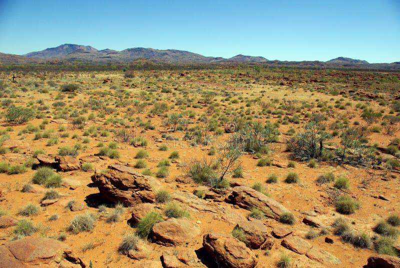 Montanha australiana fotografia de stock