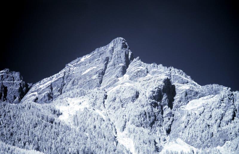 Montanha azul imagem de stock royalty free