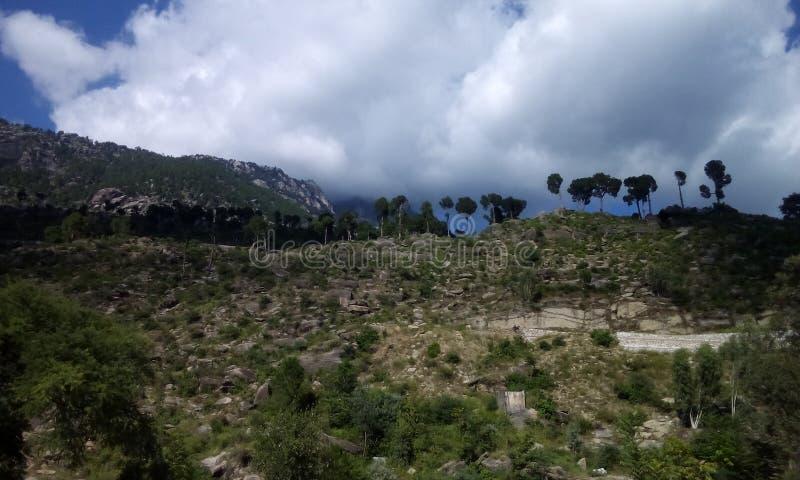 Montanha Buner Paquistão de Elum foto de stock royalty free