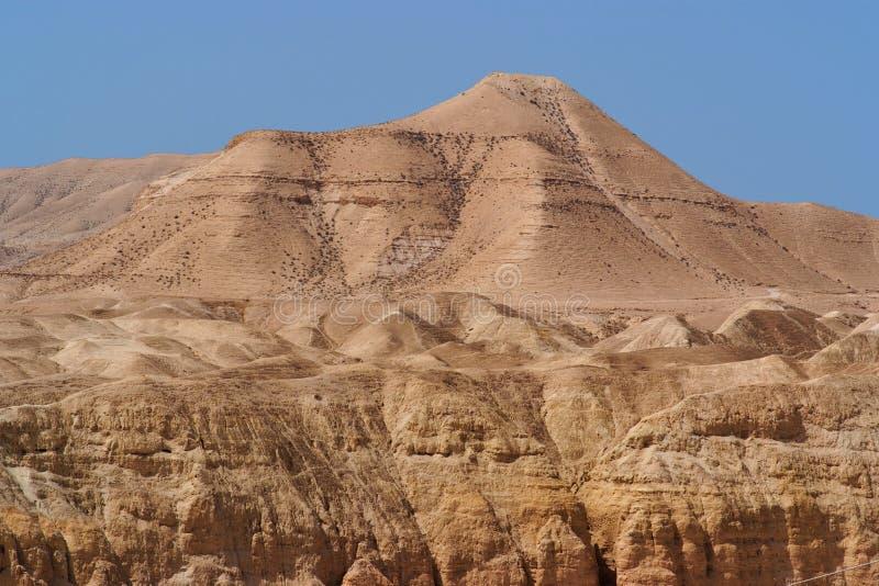 Montanha cénico no deserto de pedra fotografia de stock royalty free