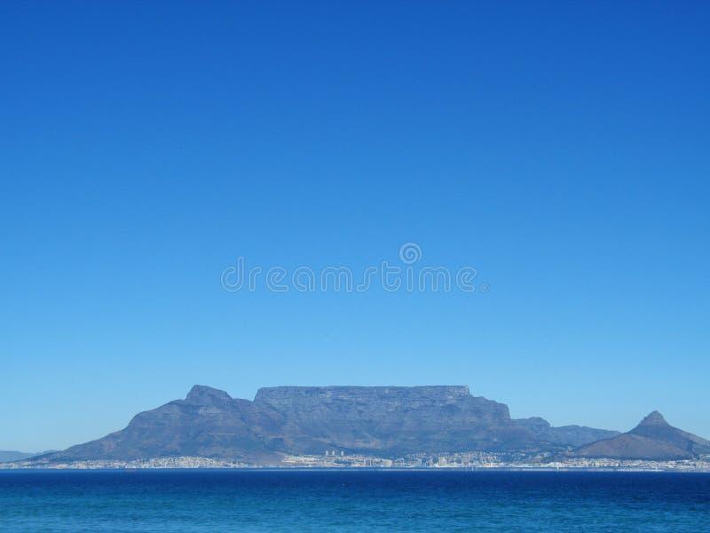 Montanha Cape Town da tabela