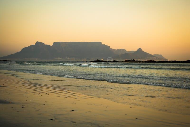 Montanha Cape Town da tabela fotos de stock royalty free