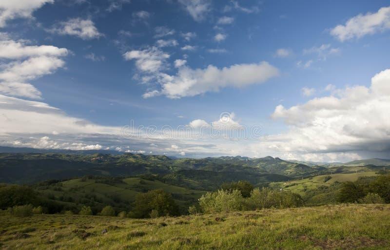 Montanha Carpathian fotos de stock royalty free