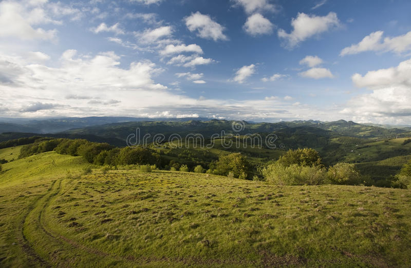 Montanha Carpathian imagens de stock royalty free