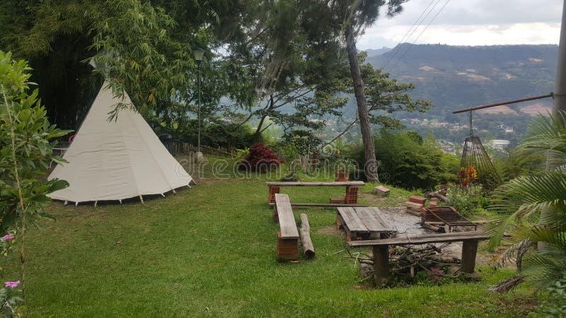Montanha, Colômbia fotografia de stock