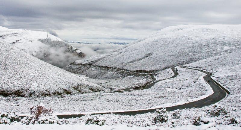 Montanha da neve de Tibet imagens de stock