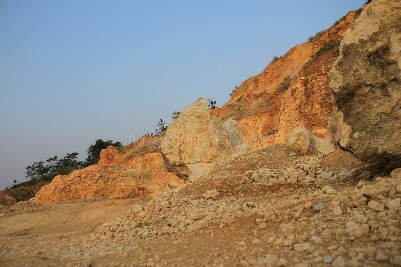 Montanha da rocha imagens de stock royalty free