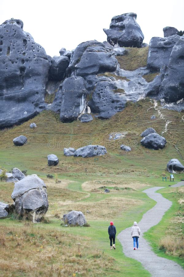 Montanha da rocha em artherpass foto de stock royalty free