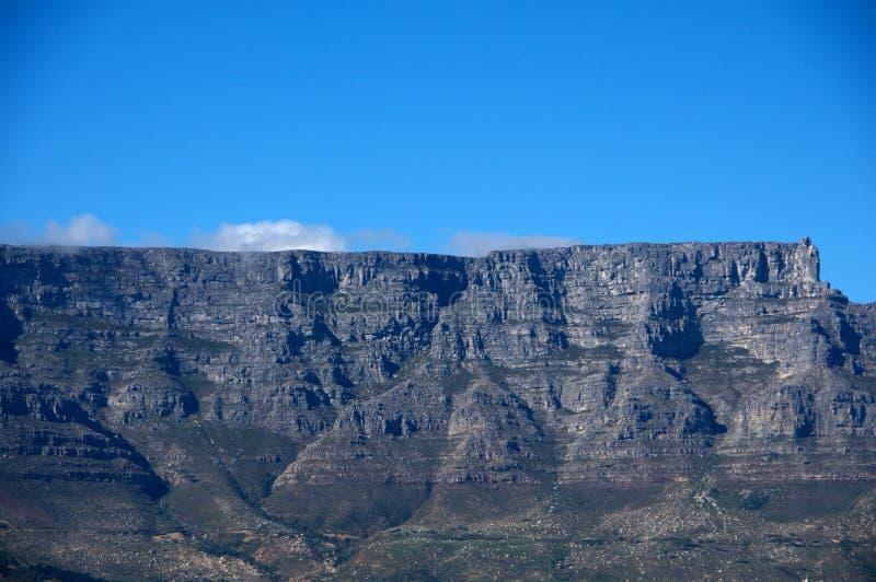 Montanha da tabela, CapeTown África do Sul foto de stock