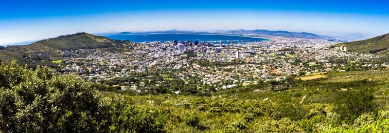 Montanha da tabela em Cape Town fotografia de stock royalty free