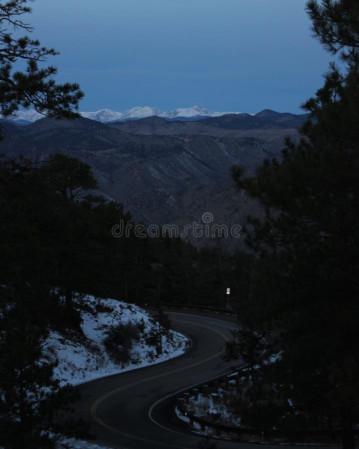Montanha da vigia fotos de stock