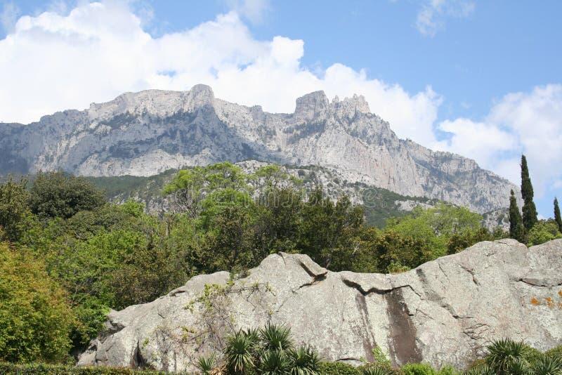 Montanha de Ai-Petri fotografia de stock royalty free