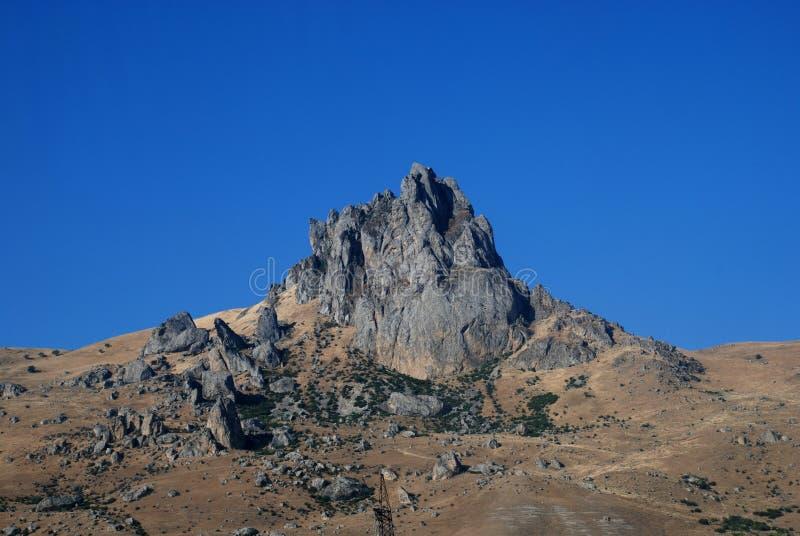 Montanha de Besh Barmag/cinco dedos imagens de stock royalty free