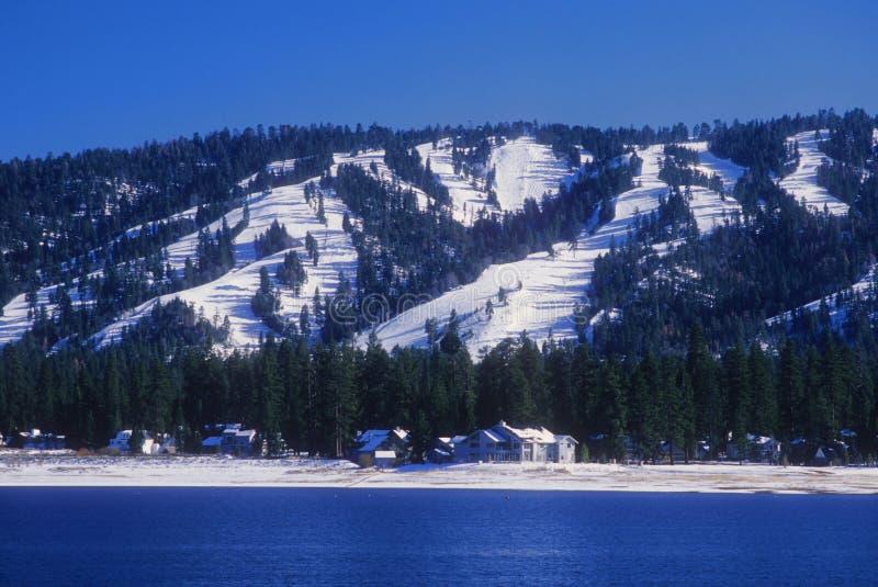 Montanha de Big Bear fotos de stock royalty free