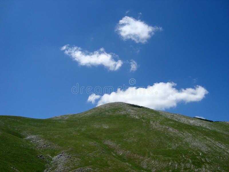 Montanha de Bjelasnica fotos de stock royalty free