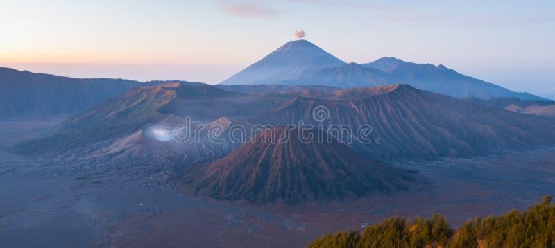 Montanha de Bromo, Indonésia imagem de stock
