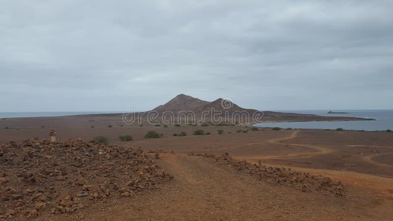 Montanha de Cabo Verde imagem de stock