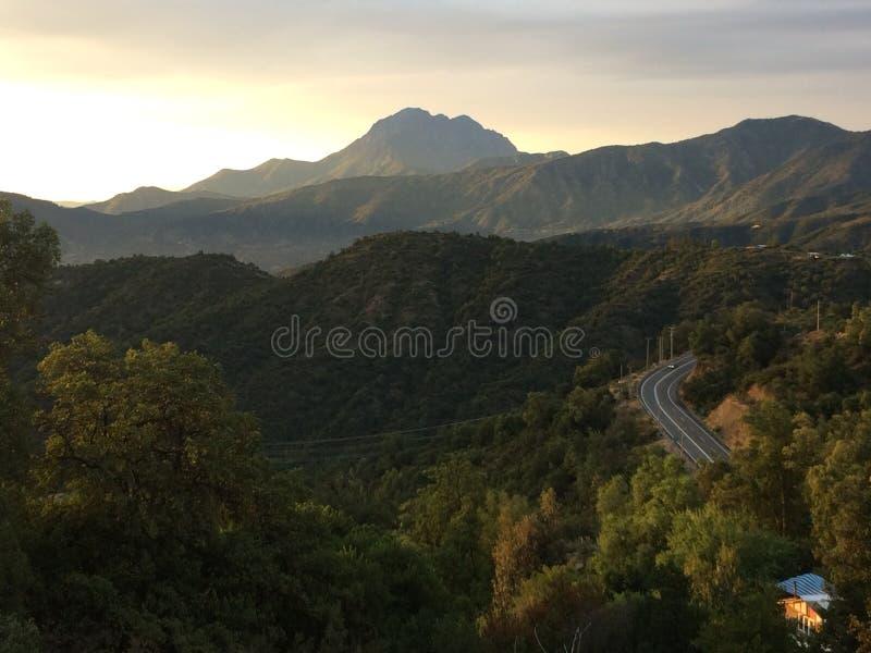 Montanha de Campana do La imagens de stock