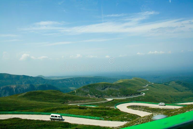Montanha de Changbai fotografia de stock royalty free