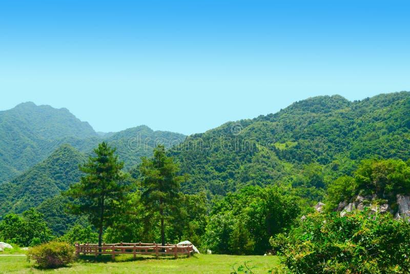 Montanha de Cuihua imagem de stock royalty free