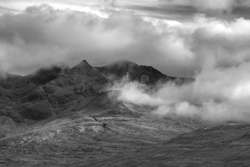 Montanha de Cullins imagens de stock royalty free