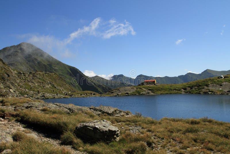 Montanha de Fagaras, Romania imagens de stock royalty free