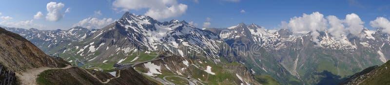 Montanha de Grossglockner em Áustria fotos de stock royalty free