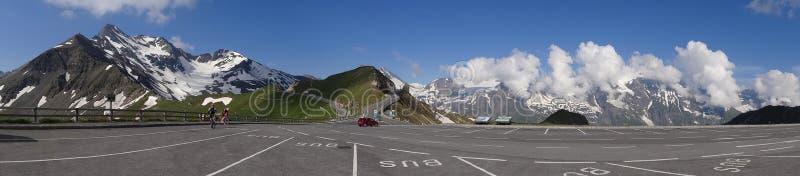Montanha de Grossglockner em Áustria fotografia de stock