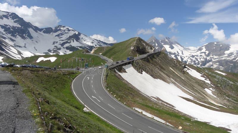 Montanha de Grossglockner em Áustria fotos de stock