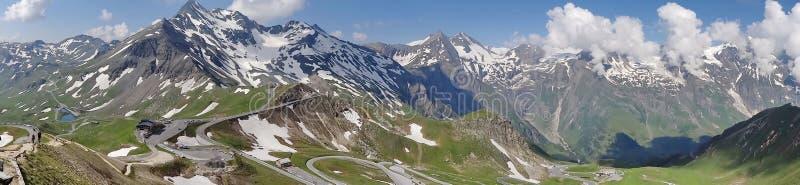 Montanha de Grossglockner em Áustria fotografia de stock royalty free