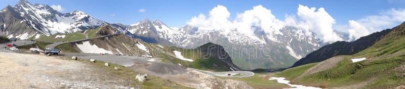 Montanha de Grossglockner em Áustria imagens de stock