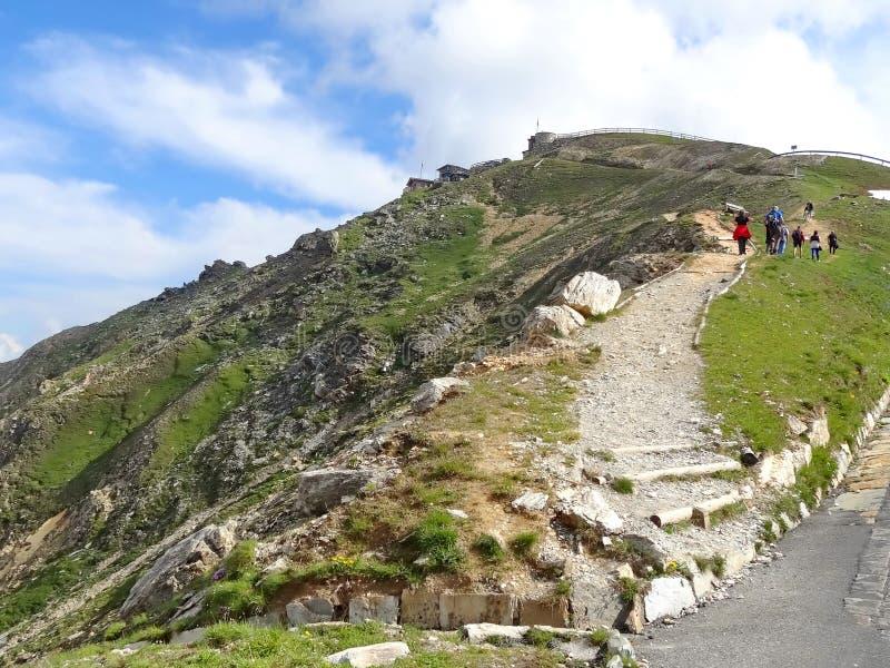 Montanha de Grossglockner em Áustria imagem de stock royalty free