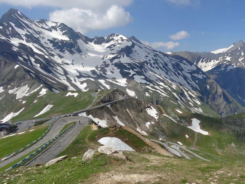 Montanha de Grossglockner em Áustria imagens de stock royalty free