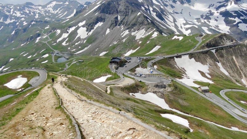 Montanha de Grossglockner em Áustria foto de stock royalty free