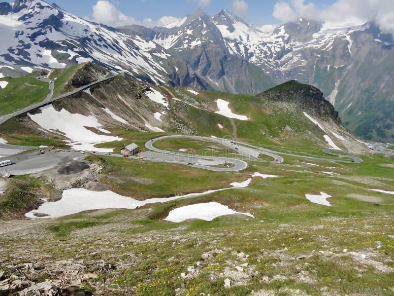 Montanha de Grossglockner em Áustria foto de stock