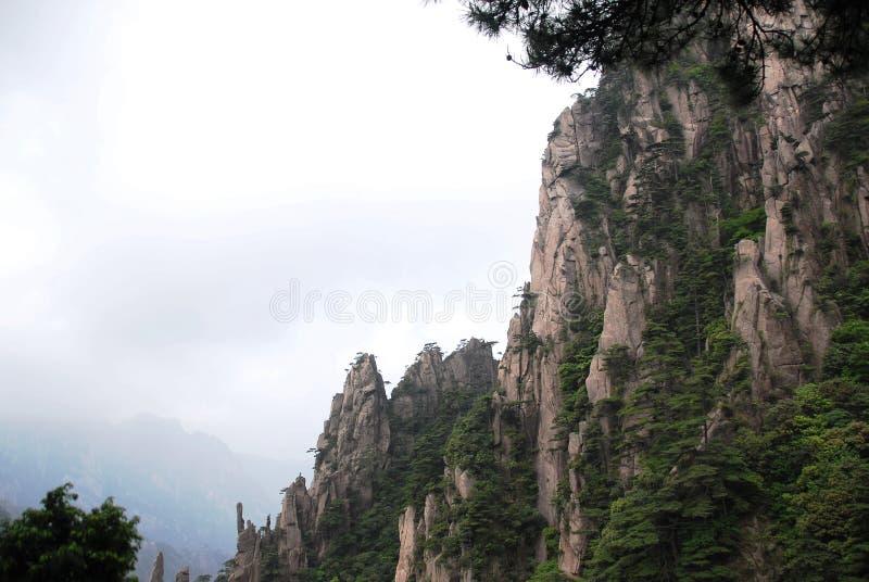 Montanha de Huangshan imagens de stock royalty free