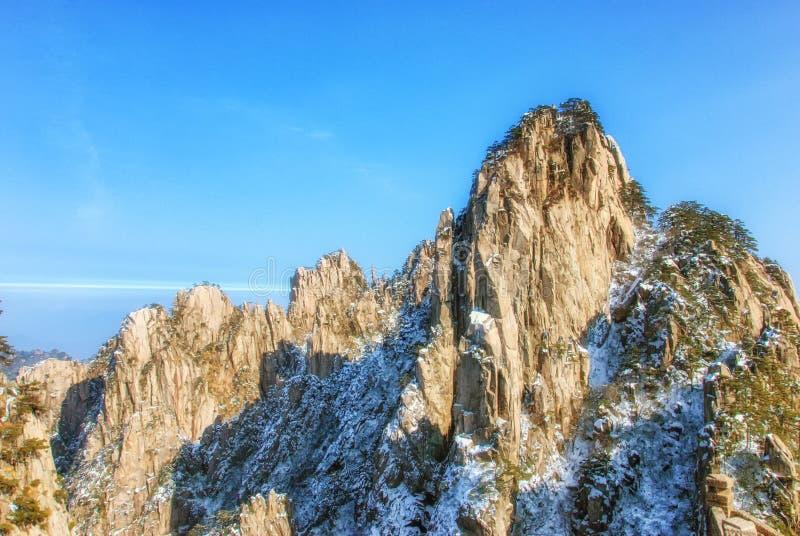 Montanha de Huangshan, Aunhui, China imagem de stock