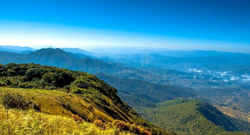 Montanha de Inthanon foto de stock royalty free