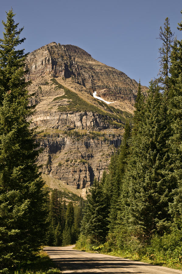 Montanha de Ir-à--Sun imagens de stock