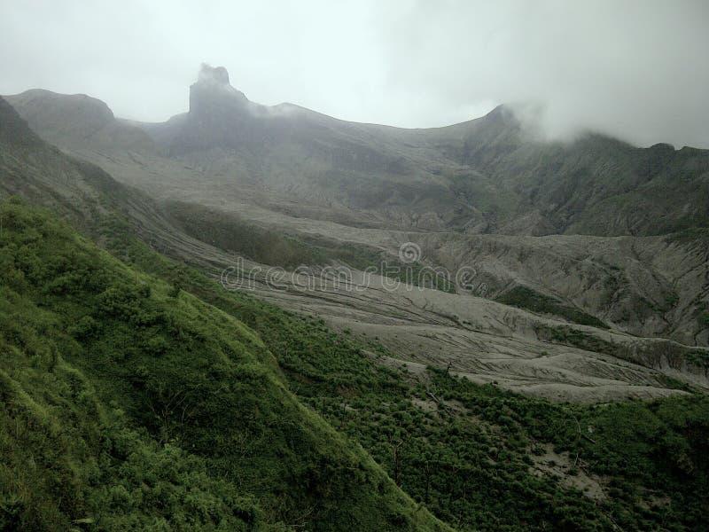 Montanha de Kelud imagens de stock royalty free