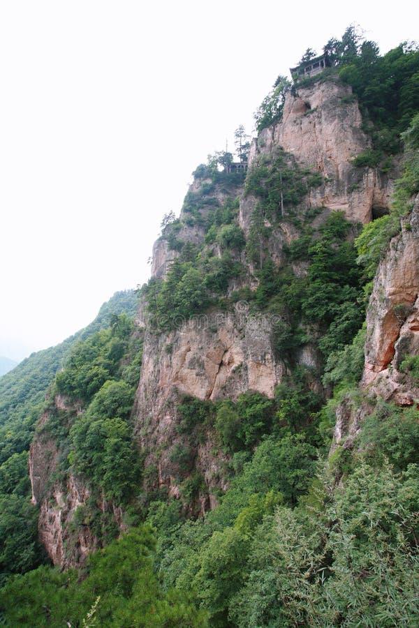 Montanha de Kongtong foto de stock