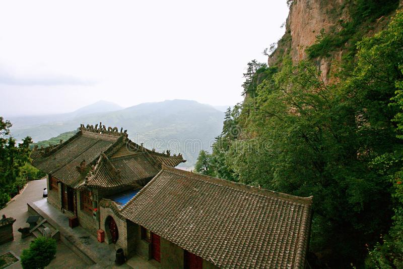 Montanha de Kongtong fotos de stock royalty free
